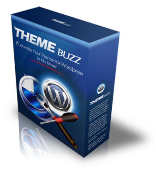 Product picture Theme Buzz -Wordpress with MRR