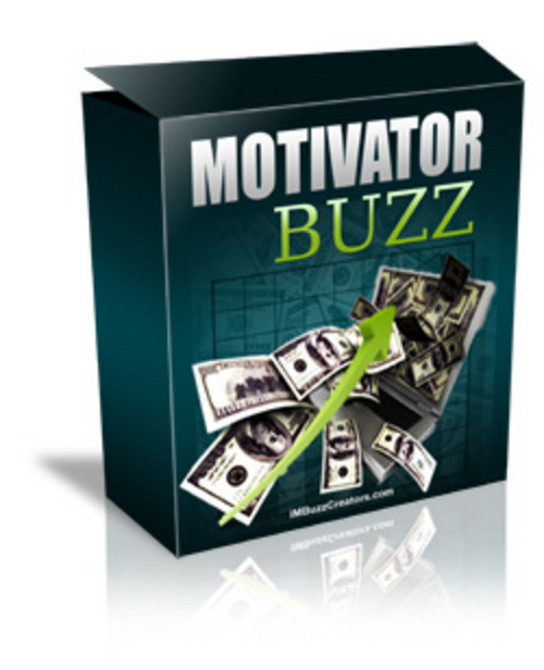 Product picture Motivator Buzz with Master Resell Rights