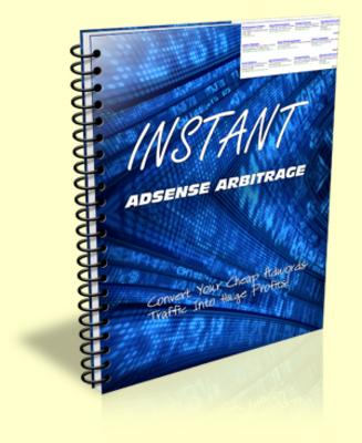 Product picture Instant Adsense Arbitrage PLR